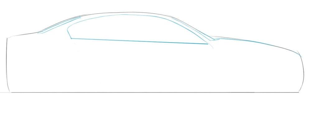 Как нарисовать автомобиль BMW