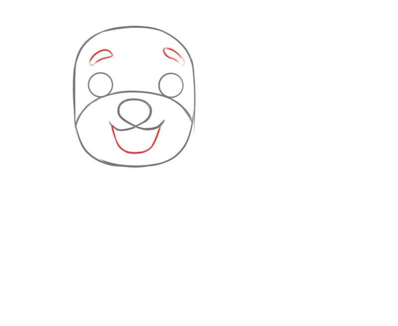 Как очень легко нарисовать собаку