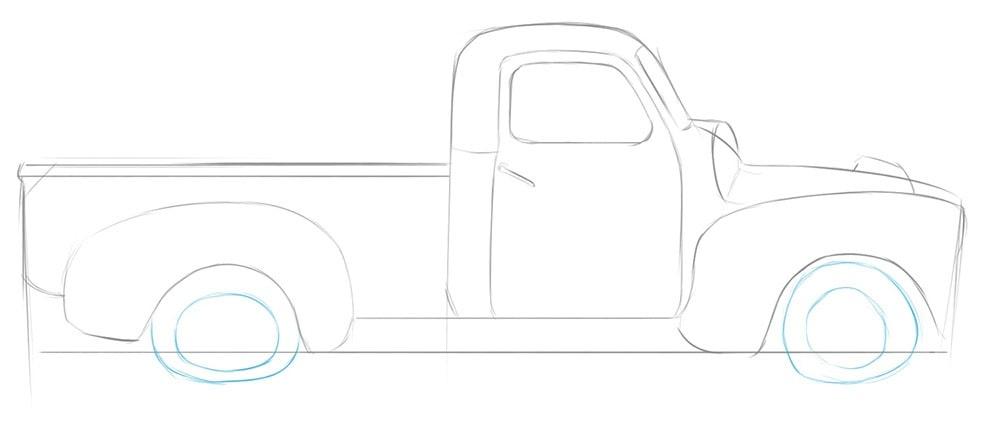 Как нарисовать брошенную машину