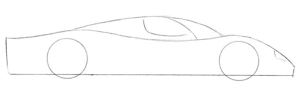 Как нарисовать Мазерати