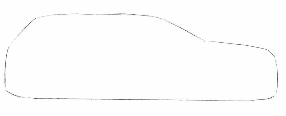 Как нарисовать джип