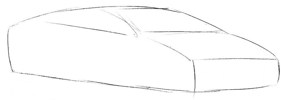 Как легко нарисовать Lamborghini