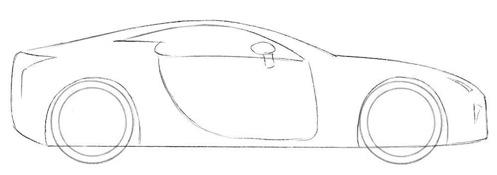 Как нарисовать крутой автомобиль