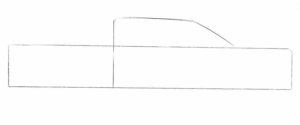 Как нарисовать пикап Ford