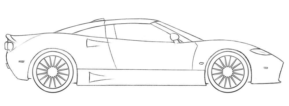 Как нарисовать действительно крутой автомобиль