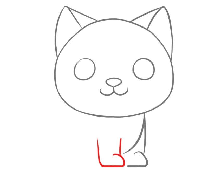 Как очень легко нарисовать кошку