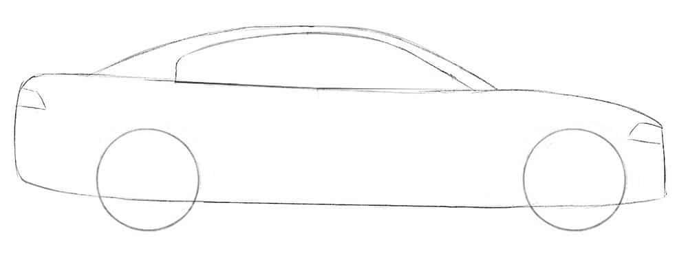 Как нарисовать Dodge Charger