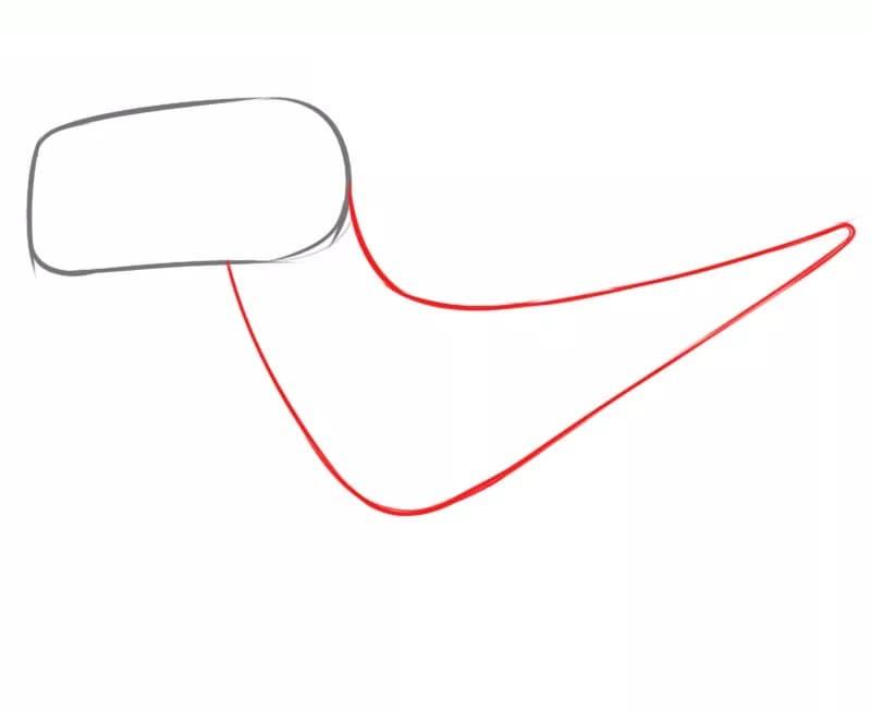 Как нарисовать велоцираптора