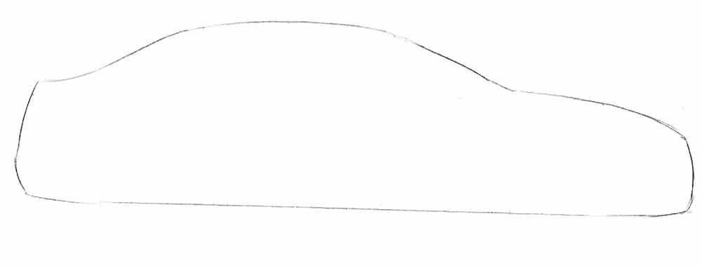Как нарисовать автомобиль Subaru Impreza WRX