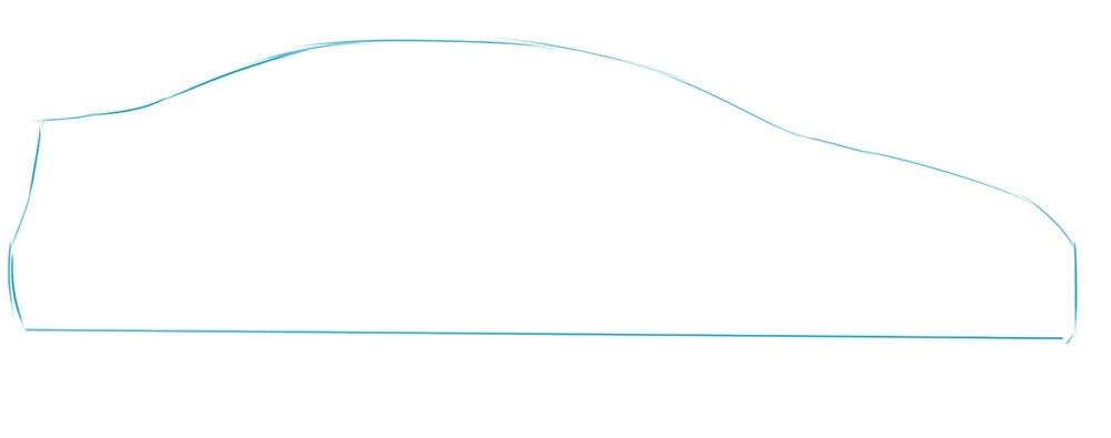 Как нарисовать Toyota Corolla