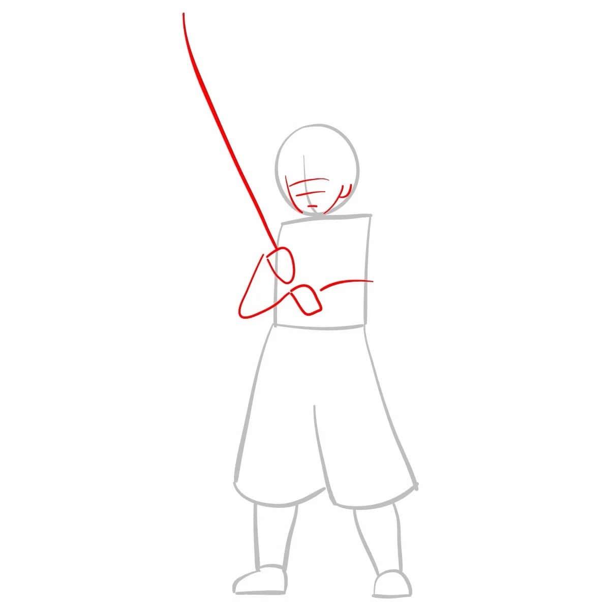 Как нарисовать Зеницу Агацума