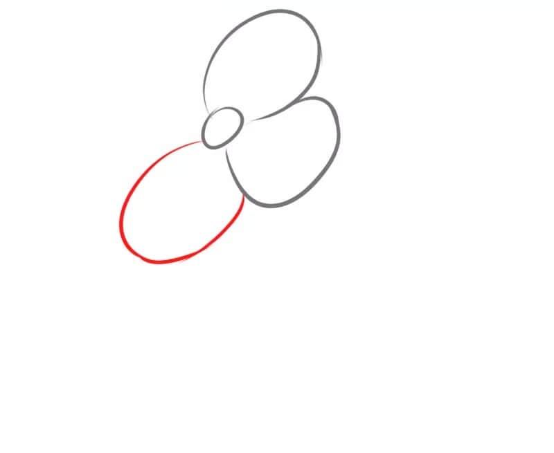Как нарисовать цветок для детей
