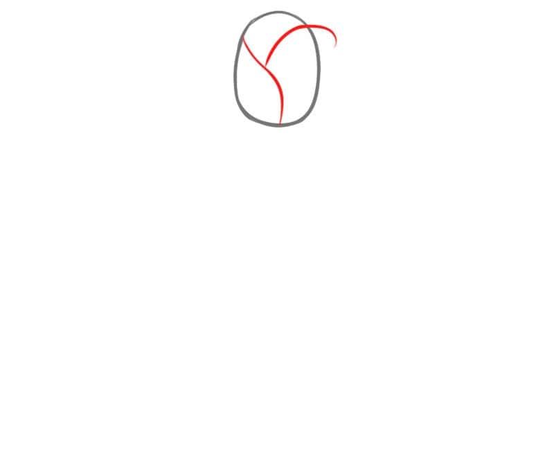 Как очень легко нарисовать розу