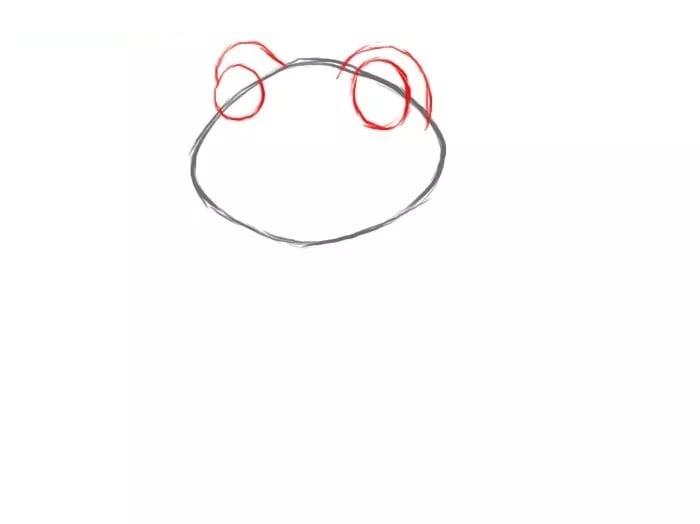 Как нарисовать лягушку для детей