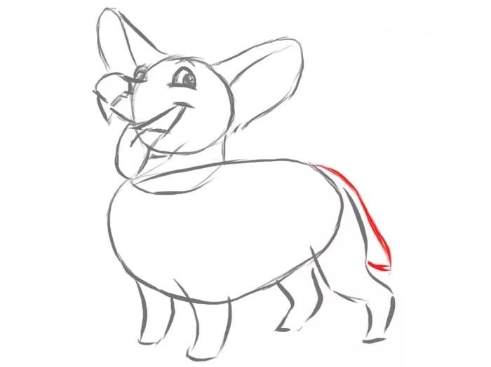 Как нарисовать собаку для детей