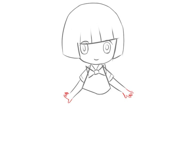 Как рисовать девочку в стиле аниме