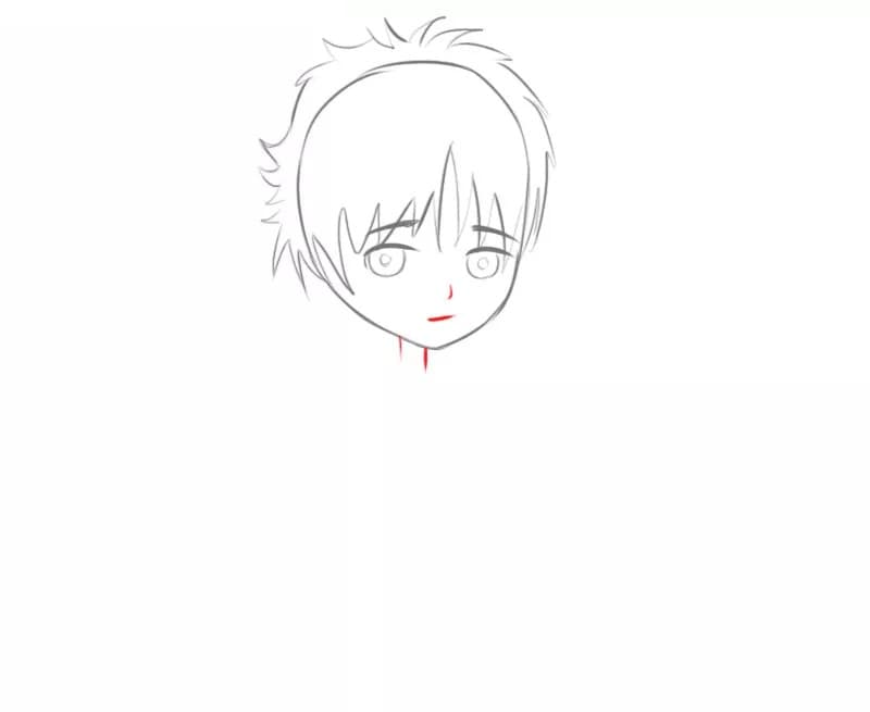 Как нарисовать парня в стиле манги очень легко
